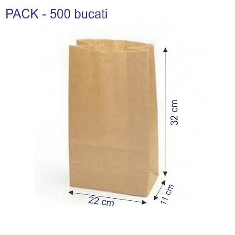 Punga transport catering 22 x 11 x 32 cm, 500 buc.