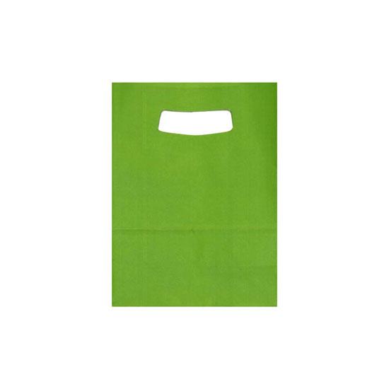Punga cadouri colorata VERDE P354 hartie kraft, 14+7x21 cm, Set 500 bucati/cutie